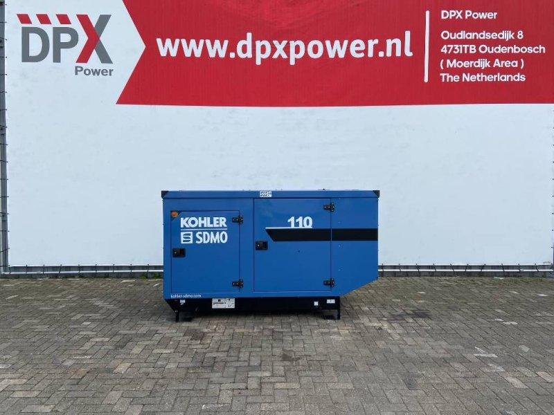 Notstromaggregat типа SDMO J110 - 110 kVA Generator - DPX-17106, Gebrauchtmaschine в Oudenbosch (Фотография 1)