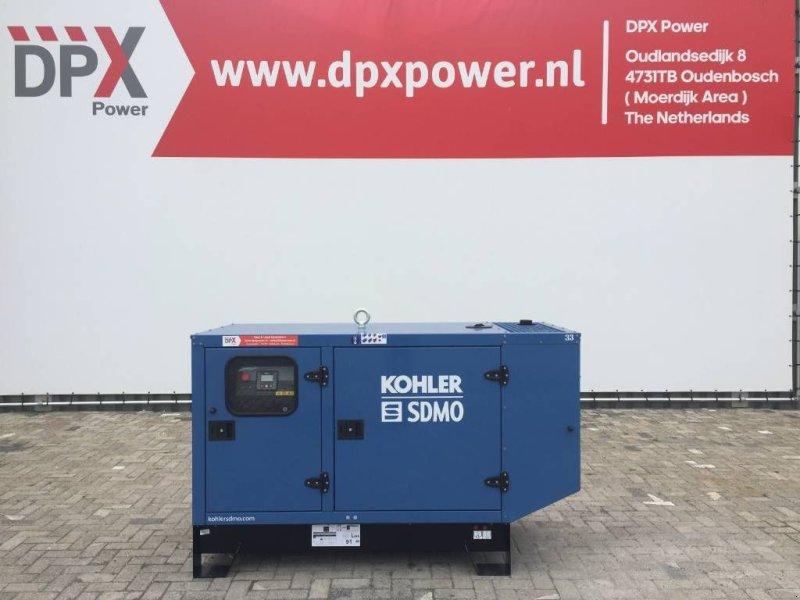 Notstromaggregat типа SDMO J22 - 22 kVA Generator - DPX-17100, Gebrauchtmaschine в Oudenbosch (Фотография 1)