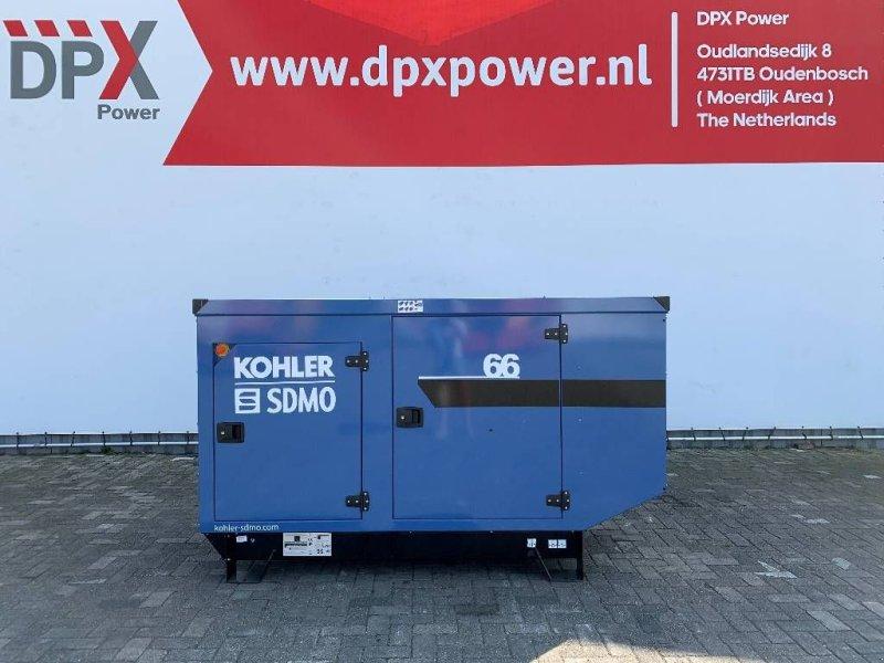 Notstromaggregat типа SDMO J66 - 66 kVA Generator - DPX-17103, Gebrauchtmaschine в Oudenbosch (Фотография 1)