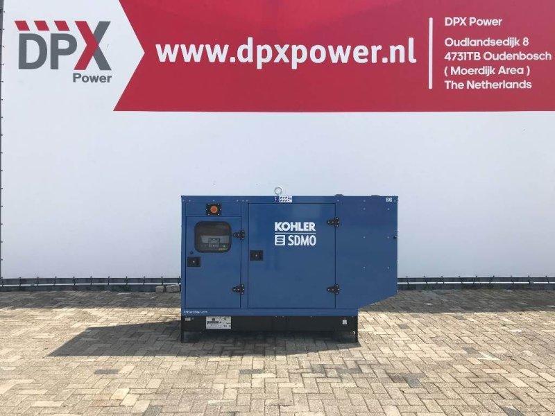 Notstromaggregat типа SDMO J77 - 77 kVA Generator - DPX-17104, Gebrauchtmaschine в Oudenbosch (Фотография 1)