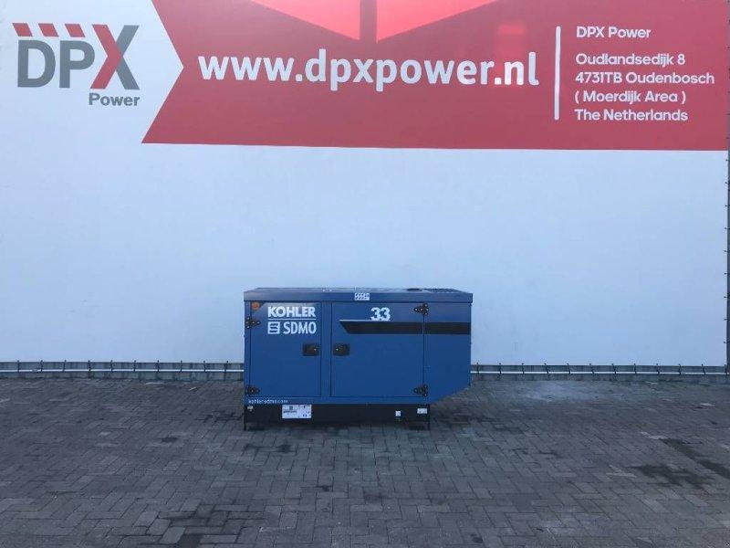 Notstromaggregat типа SDMO K33 - 33 kVA Generator - DPX-17004, Gebrauchtmaschine в Oudenbosch (Фотография 1)