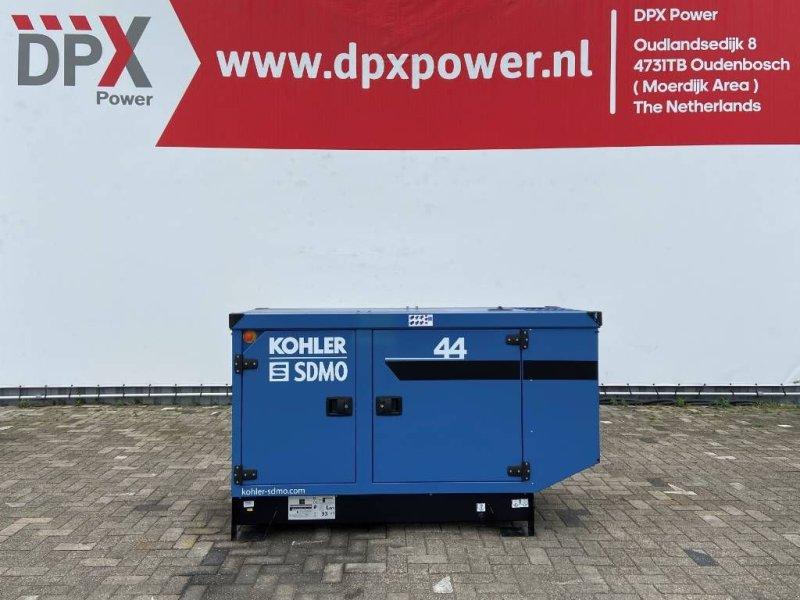 Notstromaggregat типа SDMO K44 - 44 kVA Generator - DPX-17005, Gebrauchtmaschine в Oudenbosch (Фотография 1)