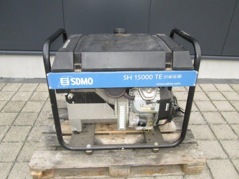 Notstromaggregat du type SDMO SH 15000 TE, Gebrauchtmaschine en Wülfershausen an der Saale (Photo 1)