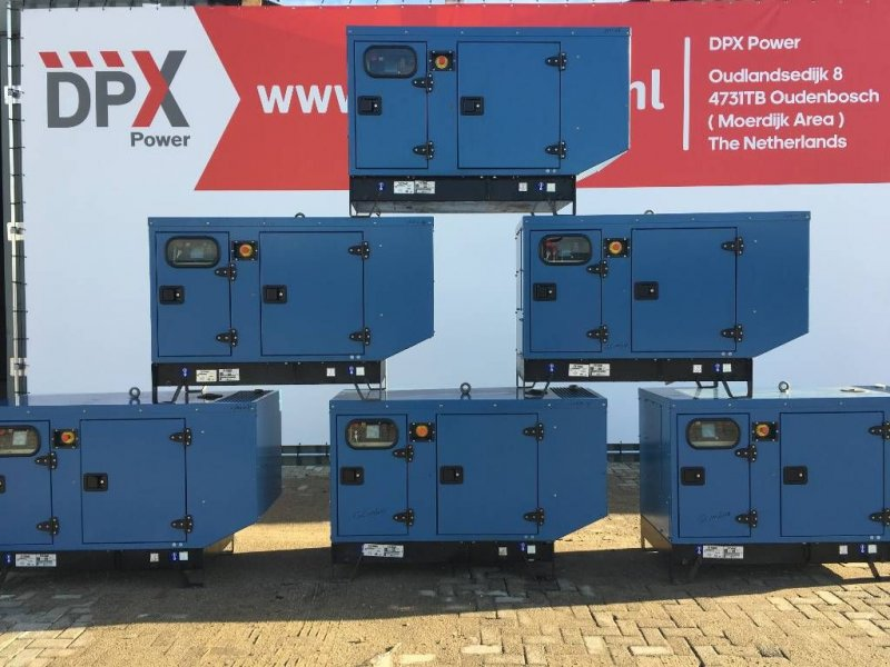 Notstromaggregat типа SDMO V650 - 650 kVA Generator - DPX-17206, Gebrauchtmaschine в Oudenbosch (Фотография 1)