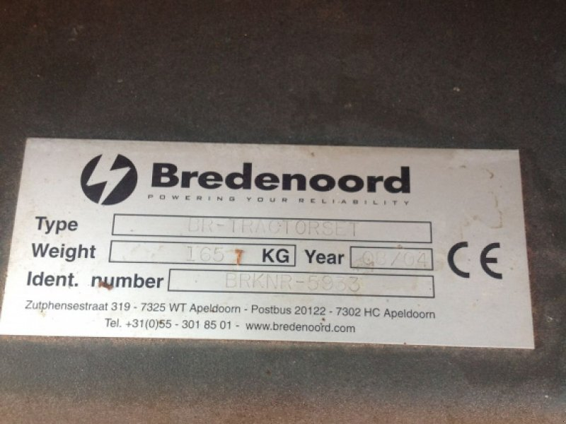 Notstromaggregat типа Sonstige Bredenoord BR, Gebrauchtmaschine в Putten (Фотография 4)