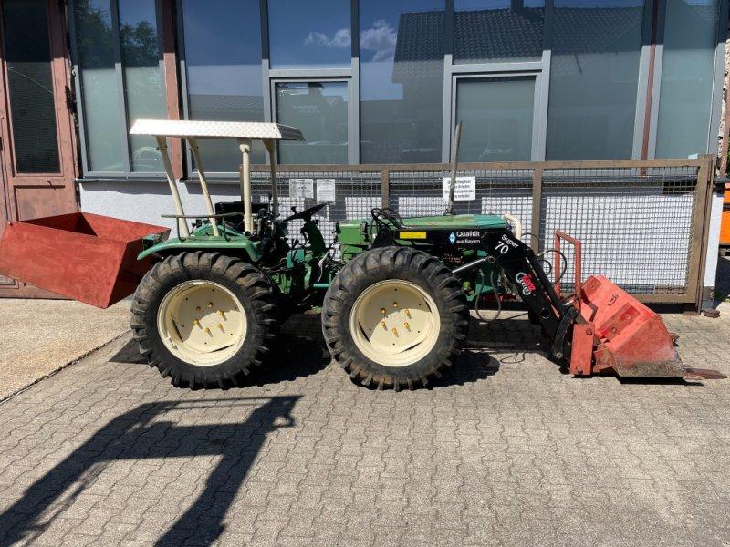 Obstbautraktor des Typs Holder A55 Allrad Traktor Schlepper FRONTLADER, Gebrauchtmaschine in Bühl (Bild 1)