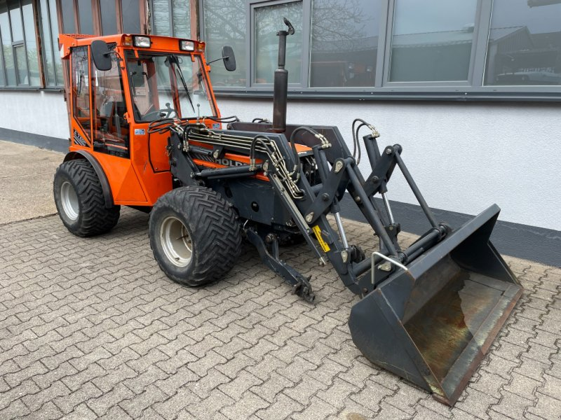 Obstbautraktor des Typs Holder A7.62C Allrad Traktor Schlepper FRONTLADER FKH FZW KLIMA, Gebrauchtmaschine in Bühl (Bild 1)