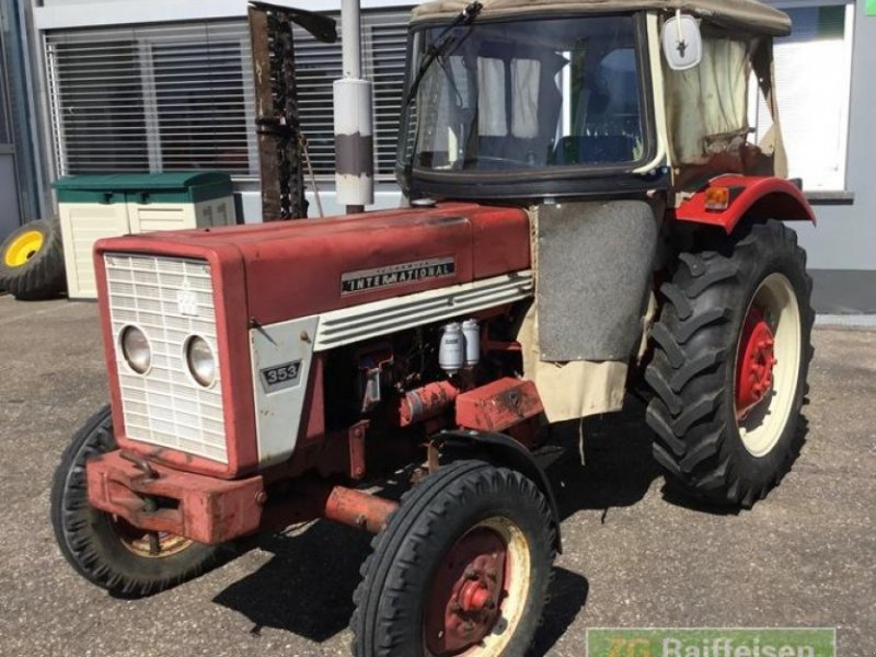 Oldtimer-Traktor des Typs Case IH 353S, Gebrauchtmaschine in Bühl (Bild 1)