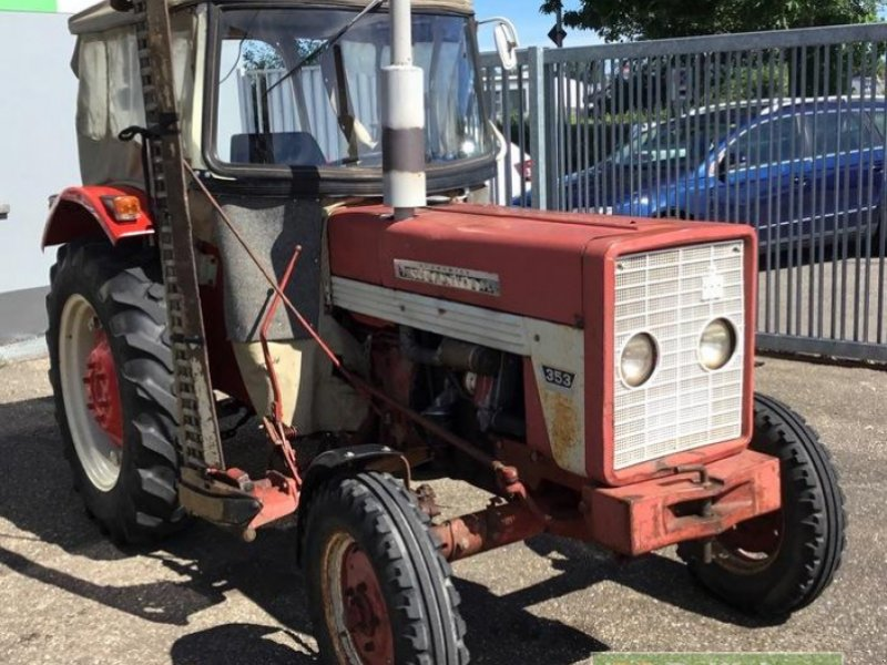 Oldtimer-Traktor des Typs Case IH 353S, Gebrauchtmaschine in Bühl (Bild 3)