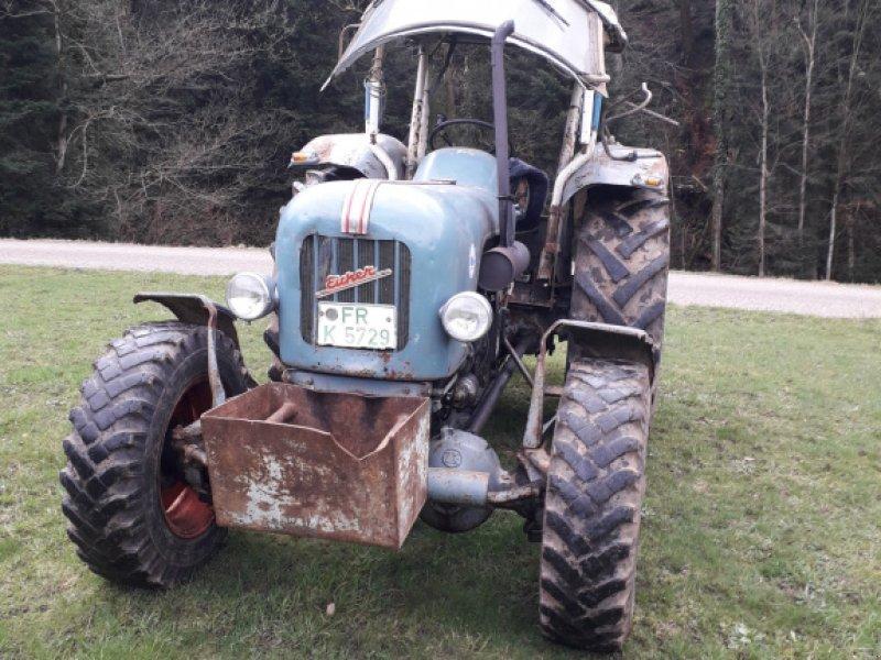 Oldtimer-Traktor des Typs Eicher Mammut EA 600 S, Gebrauchtmaschine in Glottertal (Bild 1)
