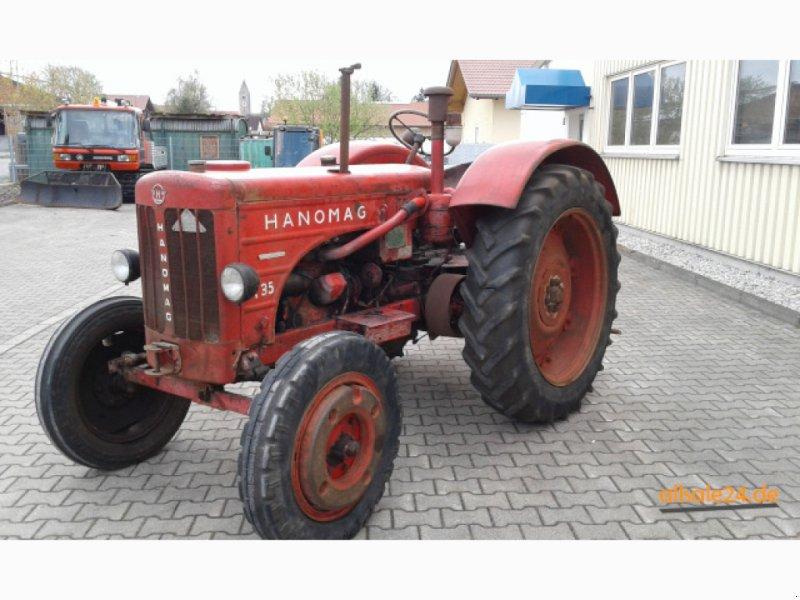 Oldtimer-Traktor des Typs Hanomag R 35, Gebrauchtmaschine in Apfeltrach (Bild 1)