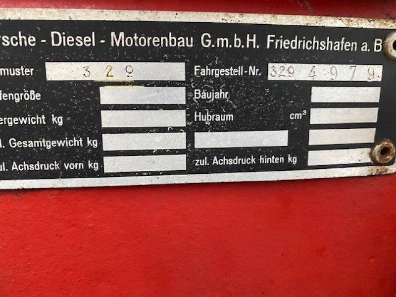 Oldtimer-Traktor des Typs Porsche 329 super export, Gebrauchtmaschine in Lunteren (Bild 5)