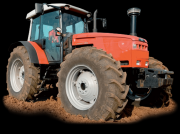 Oldtimer-Traktor des Typs Same Laser 150, Neumaschine in Кіровоград