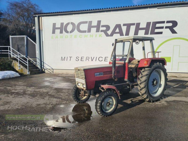Oldtimer-Traktor des Typs Steyr 650, Gebrauchtmaschine in Kronstorf (Bild 1)