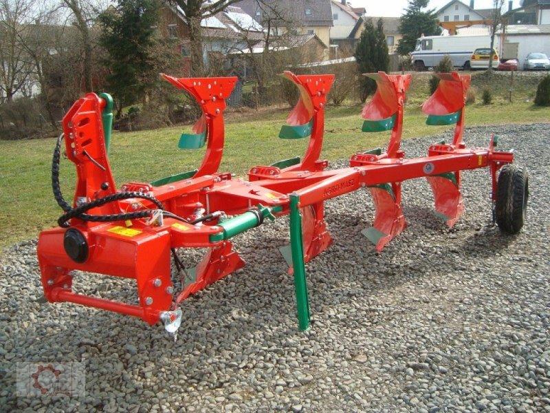 Pflug des Typs Agro-Masz PO 4 Blattfeder Steinsicherung, Neumaschine in Tiefenbach (Bild 1)