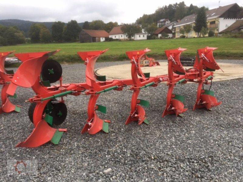 Pflug des Typs Agro-Masz POH 5 Hydraulische Steinsicherung, Neumaschine in Tiefenbach (Bild 2)