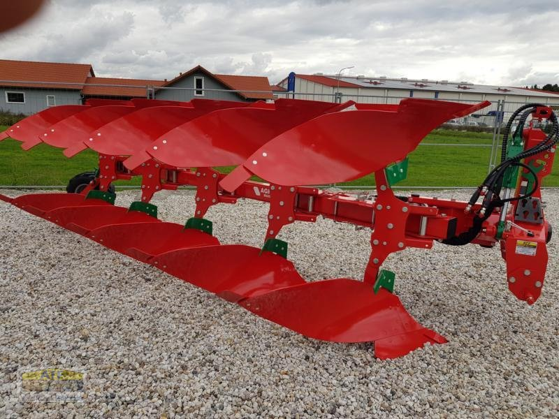 Pflug des Typs Agro-Masz POV5 mit XL-Körper, Neumaschine in Teublitz (Bild 1)