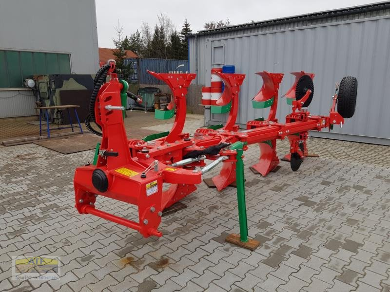 Pflug des Typs Agro-Masz POVR4, Neumaschine in Teublitz (Bild 3)
