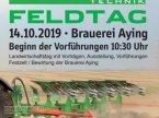 Pflug del tipo Gassner Feldtag am 14. Oktober 2019 en Aying/Goeggenhofen