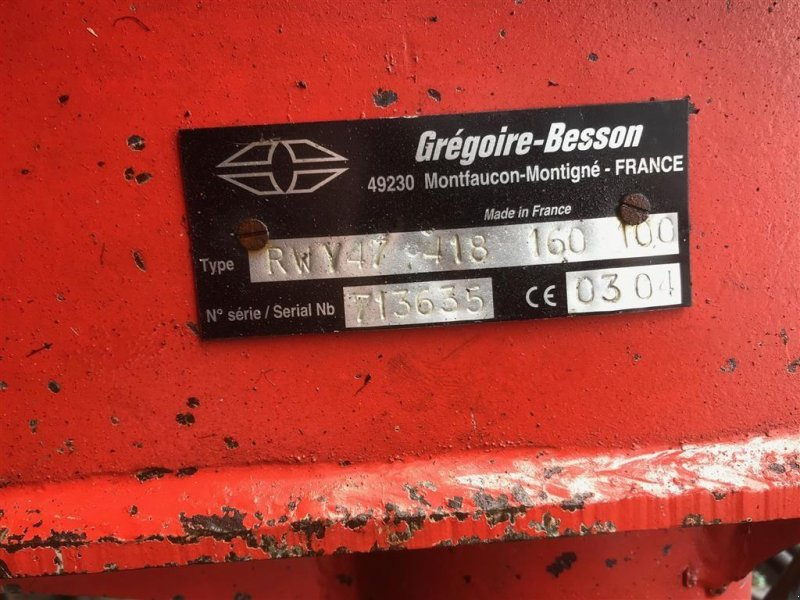 Pflug a típus Gregoire-Besson RWY 47, Gebrauchtmaschine ekkor: Ribe (Kép 3)