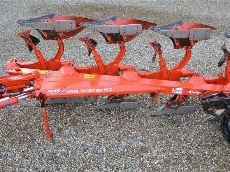 Pflug tip Kuhn vari master 152 Hydraulisk variabel furebredde og hydraulisk stensikring, Gebrauchtmaschine in Vils, Mors (Poză 1)
