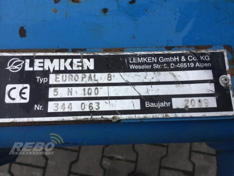 Pflug типа Lemken EUROPAL 8 5N 100, Gebrauchtmaschine в Neuenkirchen-Vörden (Фотография 11)