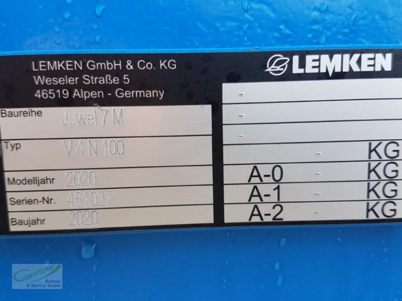 Pflug des Typs Lemken Juwel 7 M, Neumaschine in Neustadt (Bild 5)