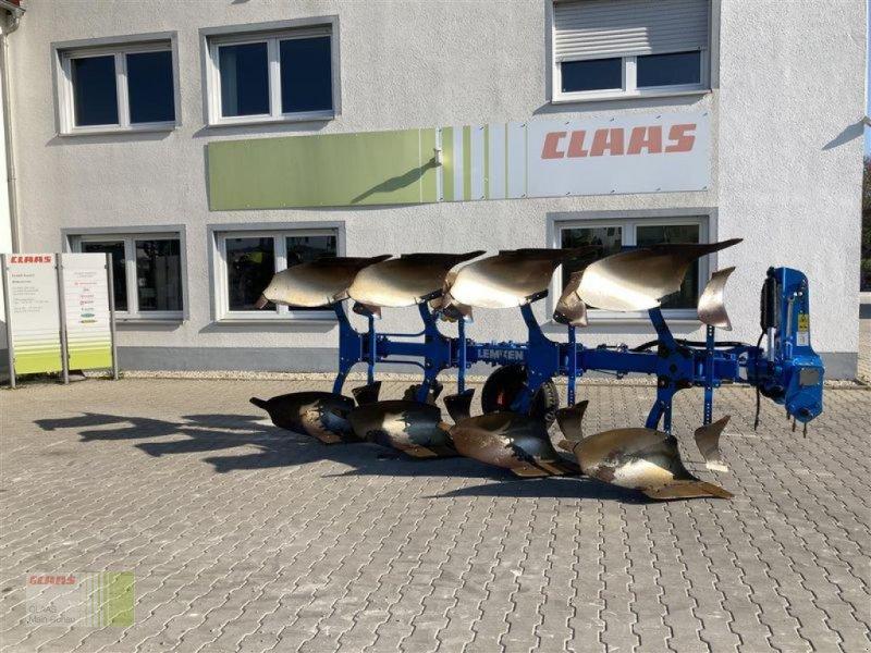 Pflug a típus Lemken VARIOPAL 7, 4 FURCHIG, VARIO, Gebrauchtmaschine ekkor: Aurach (Kép 1)