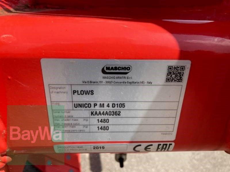 Pflug des Typs Maschio Unico M Passo 4, Neumaschine in Mering (Bild 5)