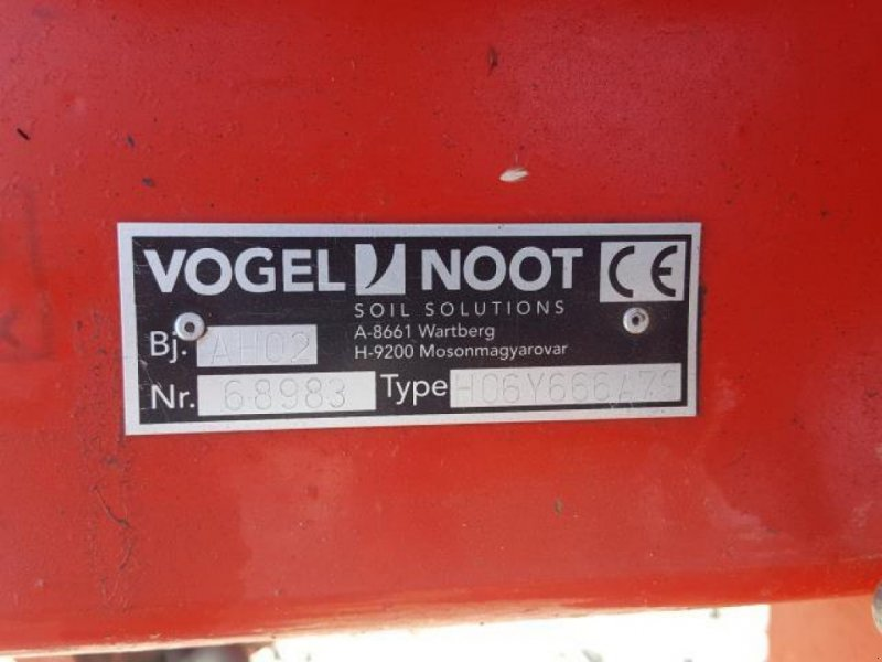 Pflug типа Vogel & Noot HEKTOR 1000 6 FURET, Gebrauchtmaschine в Jelling (Фотография 6)