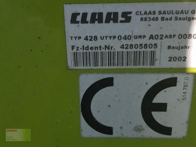 Pick-up des Typs CLAAS PU 300 HD, Gebrauchtmaschine in Vohburg (Bild 6)