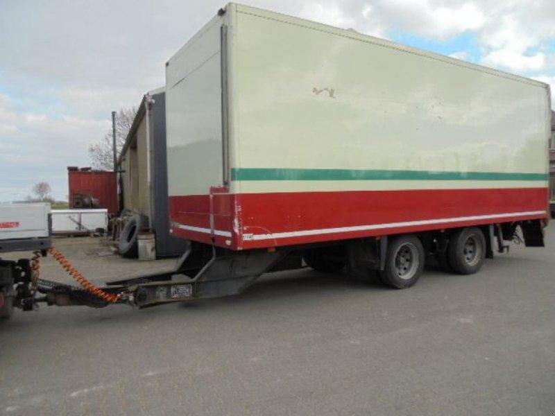 PKW-Anhänger typu Floor 2 axle isobox  taillift No REG, Gebrauchtmaschine w Kolhorn (Zdjęcie 1)