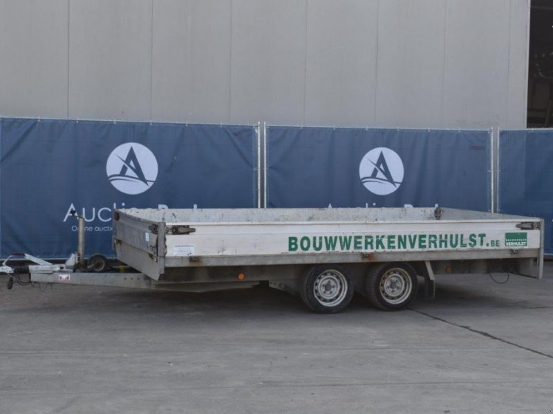 PKW-Anhänger типа Henra Plateau Aanhangwagen 2700kg, Gebrauchtmaschine в Antwerpen (Фотография 1)