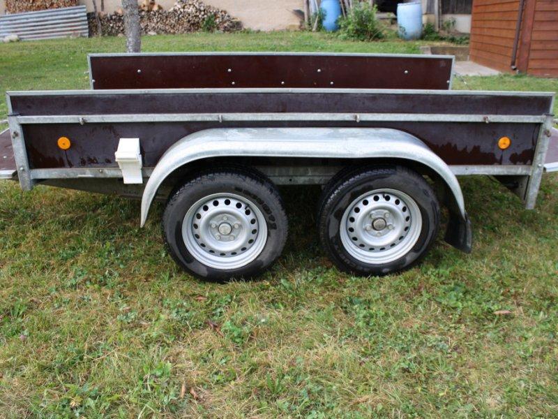 PKW-Anhänger типа Hirth Tieflader, Gebrauchtmaschine в Sulz (Фотография 1)