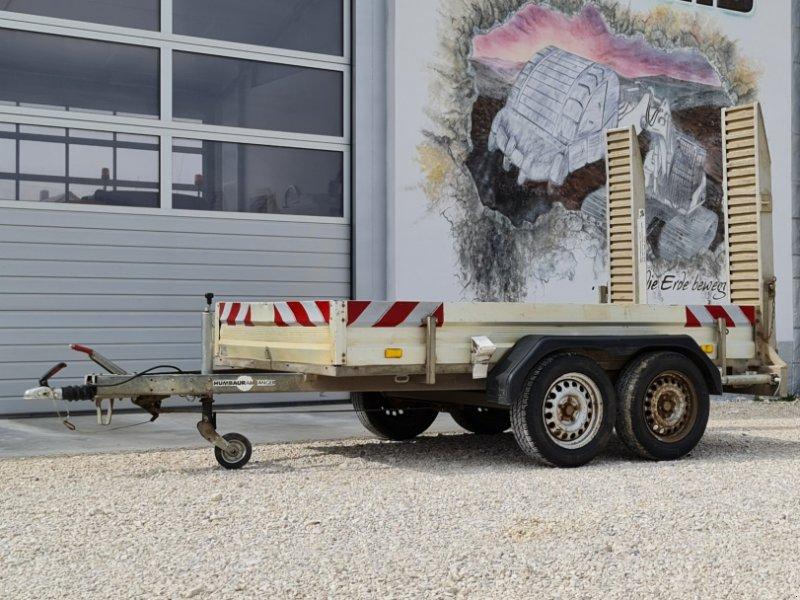 PKW-Anhänger des Typs Humbaur Baumaschinenanhänger 2,5 Tonnen mit Rampen, Gebrauchtmaschine in Großschönbrunn (Bild 1)