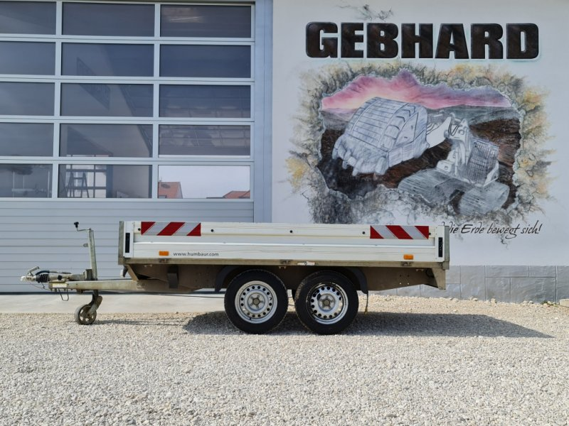 PKW-Anhänger des Typs Humbaur Tandemanhänger Hochlader 2,5 Tonnen, Gebrauchtmaschine in Großschönbrunn (Bild 1)