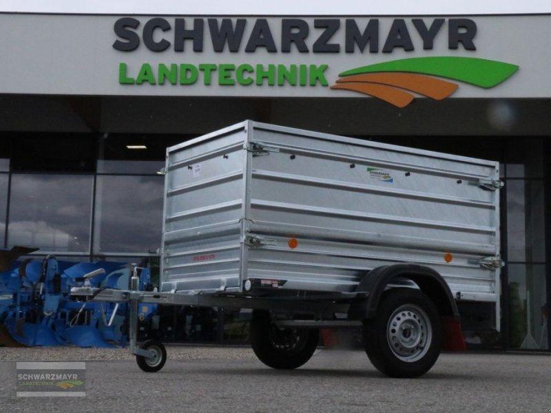 PKW-Anhänger des Typs Pongratz EPA 206 G-STK 600, Neumaschine in Gampern (Bild 1)