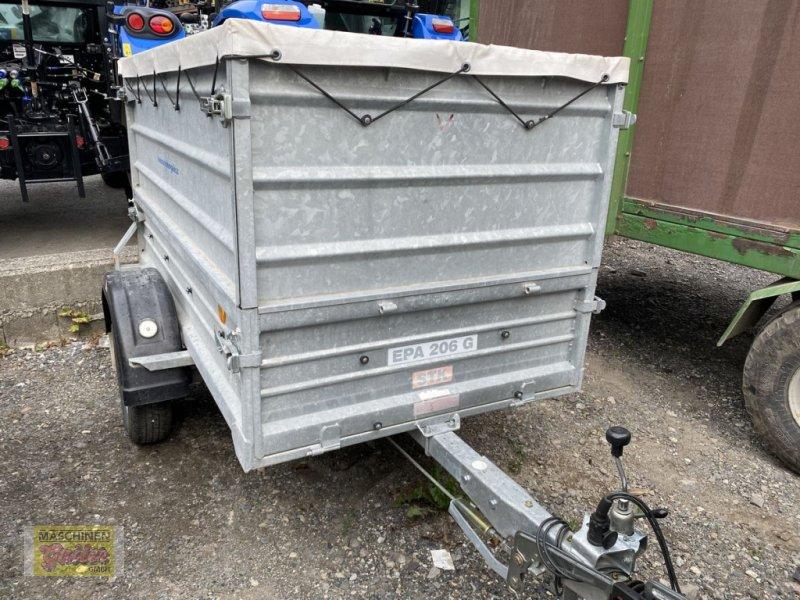 PKW-Anhänger типа Pongratz EPA 206G/STK mit Aufsatzwänden und Plane, Gebrauchtmaschine в Kötschach (Фотография 1)