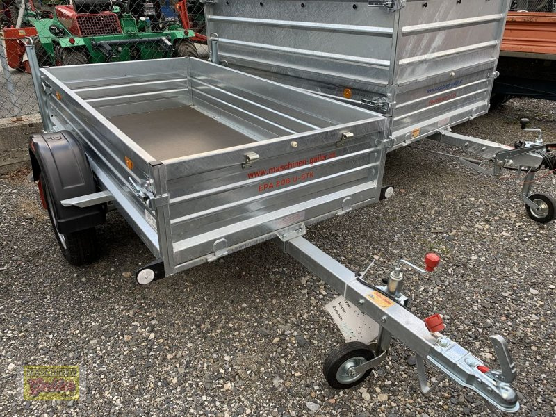 PKW-Anhänger типа Pongratz EPA 206U-STK, Neumaschine в Kötschach (Фотография 1)
