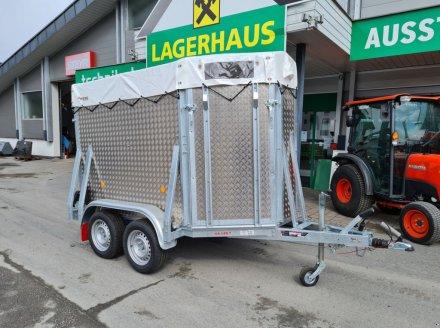 PKW-Anhänger des Typs Pongratz VA 145 T, Neumaschine in Bruck (Bild 1)