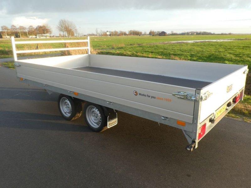 PKW-Anhänger типа Saris Plateauwagen met rijplaten 3500 kg massa, Gebrauchtmaschine в Losdorp (Фотография 1)