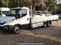 Sonstige Be  Clixtar iveco 40C15 (25) open laadbak met kraan 160 D Přívěs za osobní vozidlo