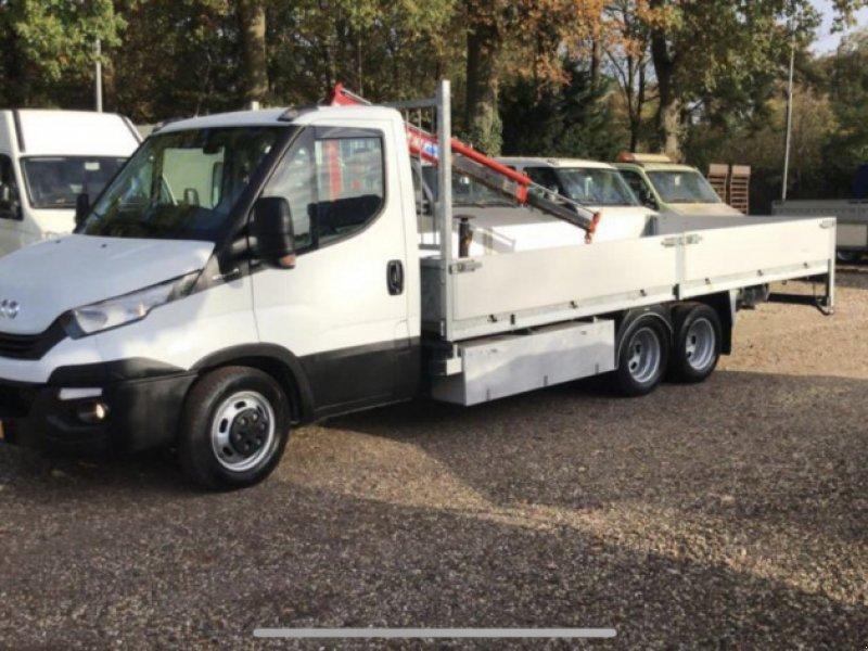 PKW-Anhänger a típus Sonstige Be  Clixtar iveco 40C15 (25) open laadbak met kraan 160 D, Gebrauchtmaschine ekkor: Putten (Kép 1)