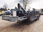 PKW-Anhänger типа Sonstige Be Oplegger 10 Ton kuipdieplader Veldhuizen met Hiab 044 kraan, Gebrauchtmaschine в Putten