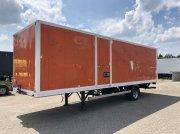 Sonstige Be Oplegger 5.5 ton gesloten Alco met laadklep PKW-Anhänger