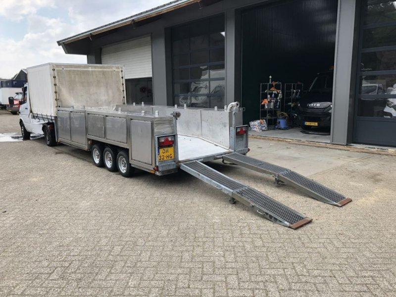 PKW-Anhänger типа Sonstige Be Oplegger 7 Ton kuiper Kuip Dieplader met rvs tanks, Gebrauchtmaschine в Putten (Фотография 1)