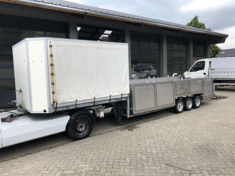 PKW-Anhänger типа Sonstige Be Oplegger 7 Ton kuiper Kuip Dieplader met rvs tanks, Gebrauchtmaschine в Putten (Фотография 4)