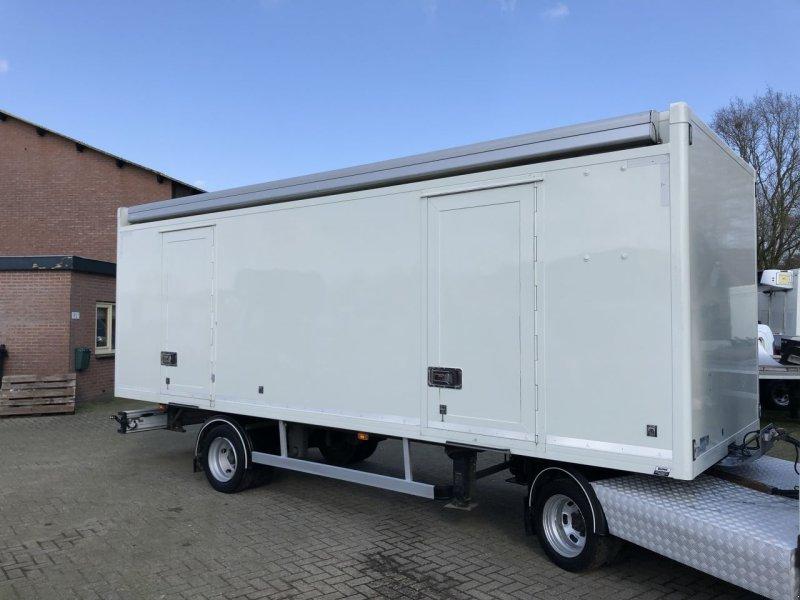 PKW-Anhänger типа Sonstige Be Oplegger 7.5 ton bunk 1 kant schuifzeilen. luifel, Gebrauchtmaschine в Putten (Фотография 1)