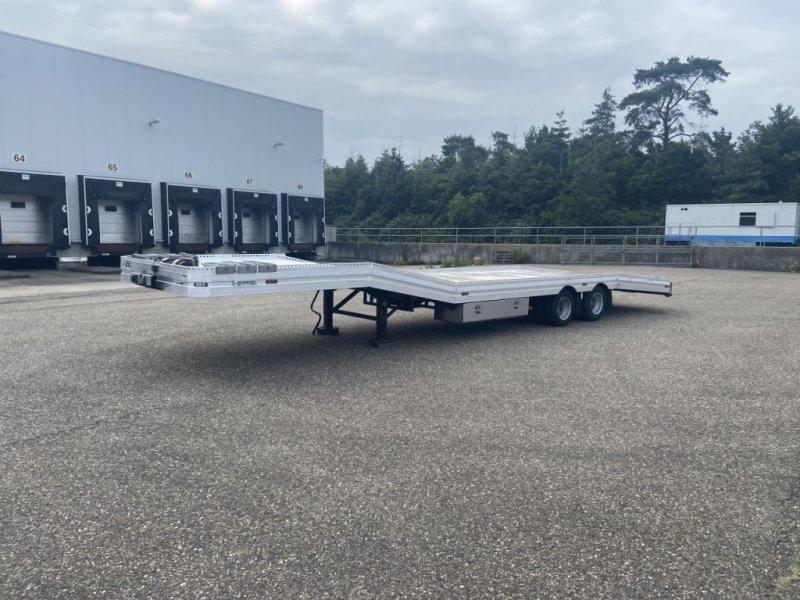 PKW-Anhänger типа Sonstige be oplegger ambulance auto transporter met Ramsey lier, Gebrauchtmaschine в Putten (Фотография 1)