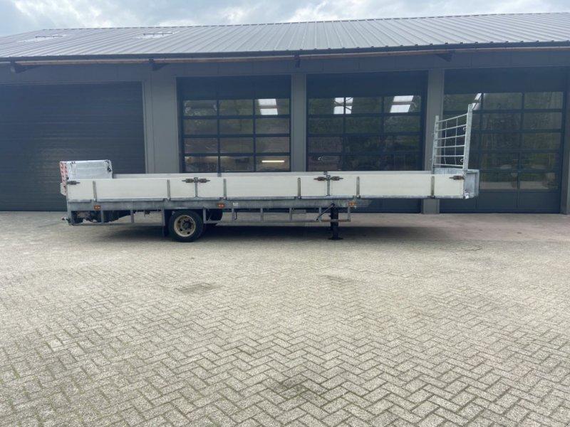 PKW-Anhänger типа Sonstige be oplegger vlak met laadklep be oplegger vlak met laadklep, Gebrauchtmaschine в Putten (Фотография 1)